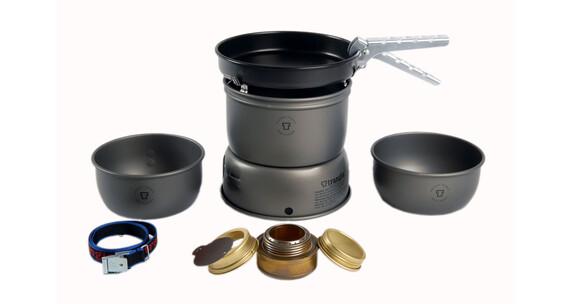 Set de hornillo Trangia 27-3 de aluminio anodizado y sartén